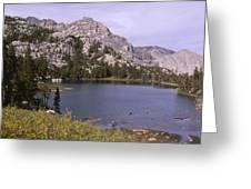 Honeymoon Lake Greeting Card