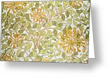 Honeysuckle Design Greeting Card