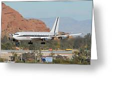 Honeywell Boeing 720 N720h Phoenix December 27 2007 Greeting Card