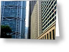 Hong Kong Architecture 49 Greeting Card