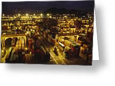 Hong Kong Container Terminal, One Greeting Card