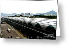 Hong Kong Cruise Terminal 2 Greeting Card