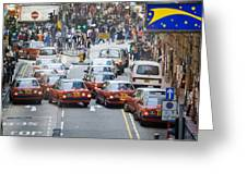 Hong Kong Street View 03 Greeting Card