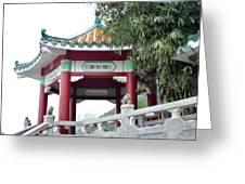 Hong Kong Temple Greeting Card