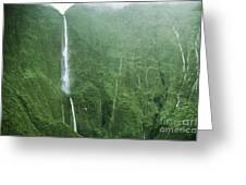 Honokohau Falls Greeting Card