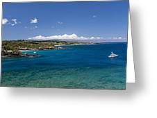 Honolua Bay Greeting Card by Jim Thompson