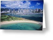 Honolulu, Oahu Greeting Card