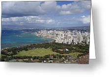 Honolulu Oahu Hawaii Greeting Card