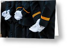 Honor Guard Greeting Card