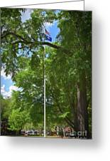 Honor On The University Of South Carolina Campus Greeting Card