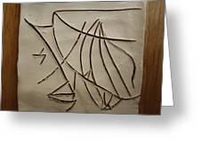 Honour - Tile Greeting Card