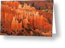 Hoodoos At Sunrise Bryce Canyon National Park Utah Greeting Card