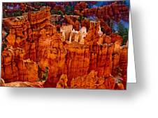 Hoodoos Bryce Canyon Greeting Card