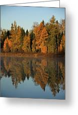 Hooker Lake Reflections Greeting Card