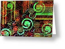 Hoopla Greeting Card