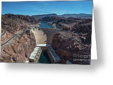 Hoover Dam Greeting Card