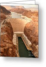 Hoover Dam Scenic View Greeting Card