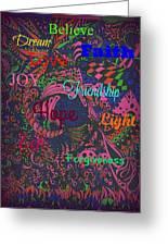 Hope And Faith Greeting Card
