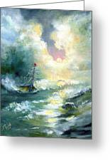 Hope In The Storm I Greeting Card