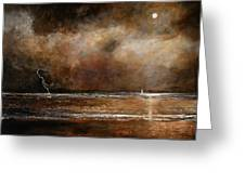 Hope On The Horizon Greeting Card
