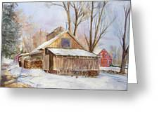 Hope Valley Sugar House Greeting Card