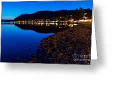Hopfensee Lake Landscape Greeting Card