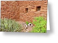 Hopi House Garden Greeting Card