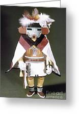 Hopi Kachina Doll Greeting Card