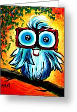 Horatio Hooter Greeting Card