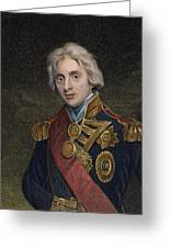 Horatio Nelson (1758-1805) Greeting Card