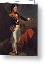 Horatio Nelson - Viscount Nelson Greeting Card