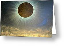 Hordes Of The Lunar Eclipse Greeting Card