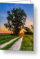 Horicon Trails Greeting Card