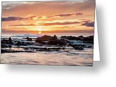 Horizon In Paradise Greeting Card