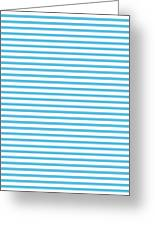 Horizontal White Outside Stripes 30-p0169 Greeting Card