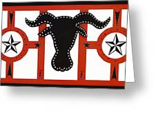 Horn Time In Texas Greeting Card