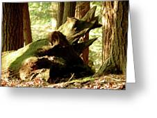 Horned Tree Greeting Card