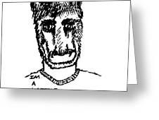 Horrible Artist Greeting Card
