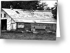 Horse Barn Now Greeting Card