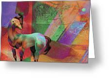 Horse Dreams Greeting Card