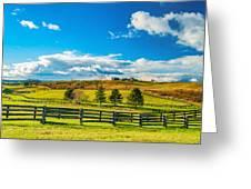 Horse Farm 6 Greeting Card