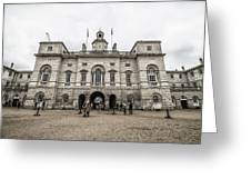 Horse Guards Greeting Card