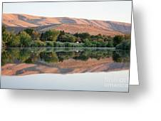 Horse Heaven Hills Sunset Greeting Card