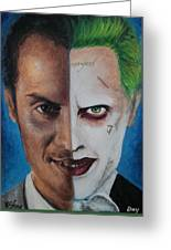 Moriarty And The Joker Greeting Card