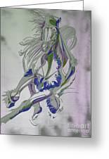 Horse Portrait 02v Greeting Card