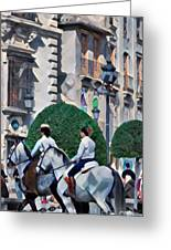 Horse Riding 3  Greeting Card