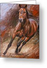 Horse2 Greeting Card