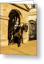 Horseguard Greeting Card