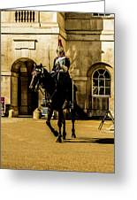 Horseguards. Greeting Card