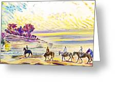 Horsemen Greeting Card